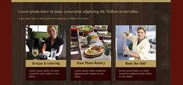 Ashley Dining web design