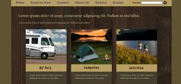 Ashley RVPark web design
