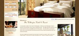 Avery Lodging web design
