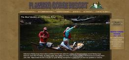 Flaming Gorge Resort web design