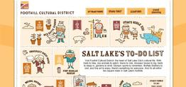 Foothill Cultural District web design