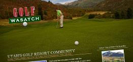 Golf Wasatch web design
