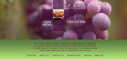 Grace Dining web design