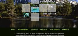 Grace RVPark web design