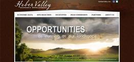 Heber Valley Economic Development web design