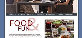 Madison Dining web design