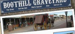 Boothill Graveyard and Giftshop web design