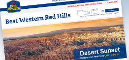 Best Western Red Hills web design