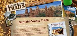 Garfield County Trails web design
