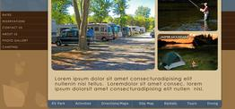 Brandon RVPark web design