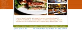 Brandon Dining web design