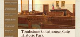 Tombstone Courthouse web design