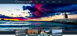 Charlevoix Convention & Visitors Bureau web design