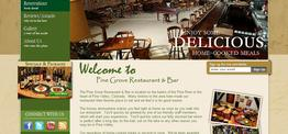 William Dining web design