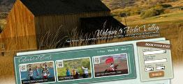 Heber Valley Convention and Visitors Bureau web design