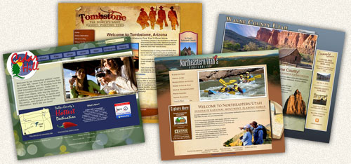 Destination Marketing Website Design